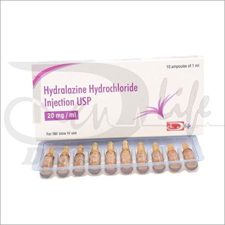 Hydralazine HCL Injection