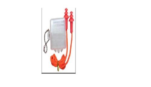 Tree shape reusable corded silicon ear plugs