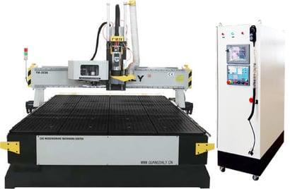 Metal Woodworking Cnc Router