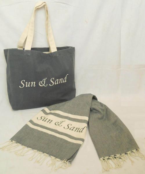 Fouta/Kikoi With Bag