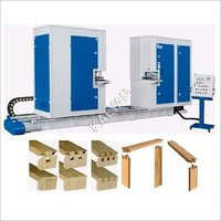 AUTO HYDRAULIC DOUBLE END TENONING MACHINE FOR DOOR AND WINDOW FRAMES