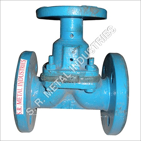 Rubber Lined Diaphram Valve