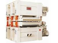 FOUR  HEAD TOP AND BOTTOM / DOUBLE DECK WIDE BELT SANDING MACHINE