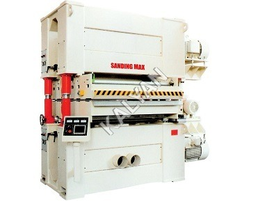 TWO HEAD TOP AND BOTTOM WIDE BELT SANDING MACHINE