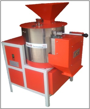 1 TPH Manual Seed Coating Machine