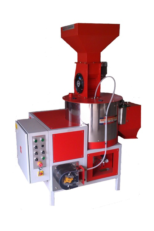 2 TPH Fully Automatic Seed Coating Machine