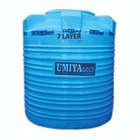 Blue 3 Layer Water tank