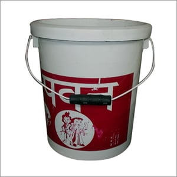 Industrial White Bucket