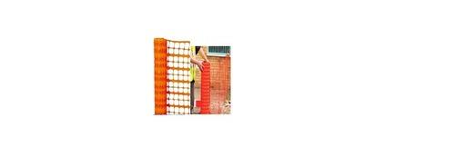 Orange plastic Warning Barrier, Safety/security Fe