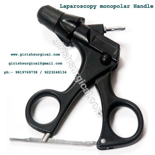 Laparoscopy monopolar Handle