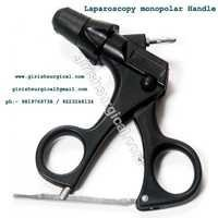 Monopolar laparoscopy Handle