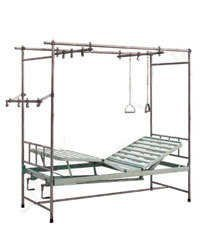 Orthopaedic Bed Two Sectioned Adjustable Knee Rest