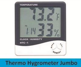 Thermo Hygrometer Jumbo