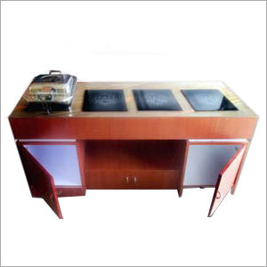 Induction Buffet Trolley