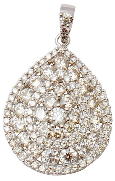 attractive diamond pendent, beautiful design diamond pendent