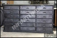Industrial 18 Drawer Chest