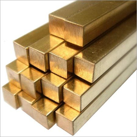 Brass Square Extrusion Rod