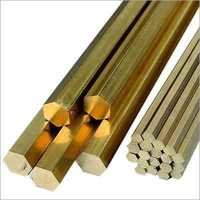 Brass Hexagonal Extrusion Rod