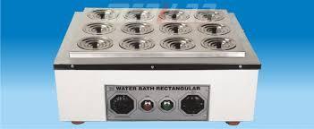 Rectangular Water Bath Single Wall Electric
