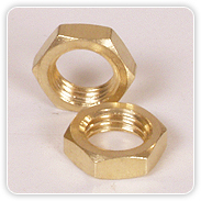 Brass Hexagonal Nuts