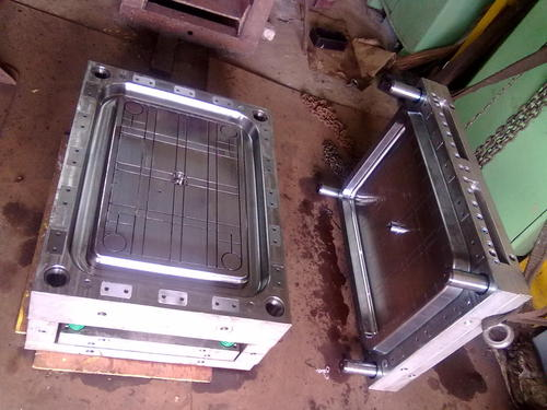 RECTANGLE TABLE TOP MOULD ASSEMBLY