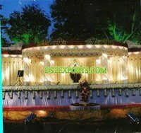 Asian Wedding Mehandi Stage Decors