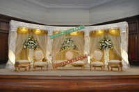 WEDDING CRYSTAL STAGE DECORS