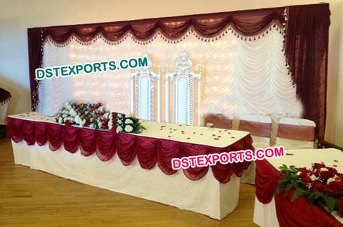 Indian Wedding Lehariya Backdrop