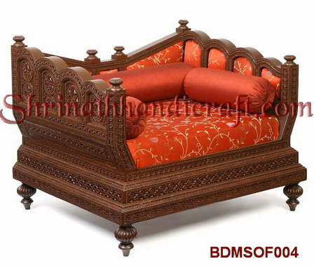 Carved Teak Sofa Sets