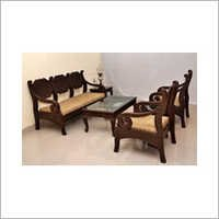 Carved Teak Dining Table