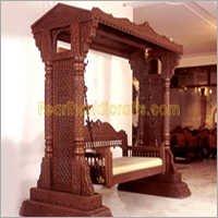 Carved Teak Swings (Jhula)