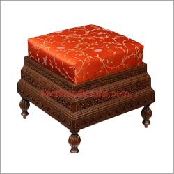 Carved Teak Tables
