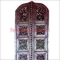 Silver Metal Doors