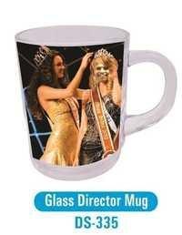 Glass Director Mug