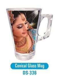 Conical Glass Mug