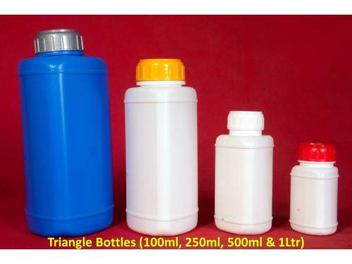Triangle Shape Bottles