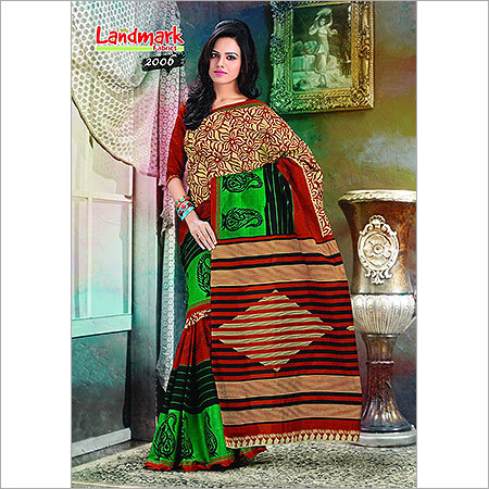 Trendy Embroidered Sarees
