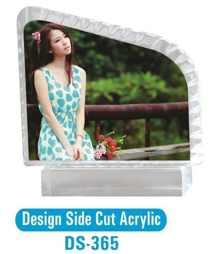 Design Side Cut Acrylic Photo Frame