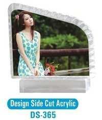 Design Side Cut Acrylic Photo Frame