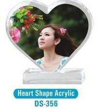 Heart Shape Acrylic Mirrors