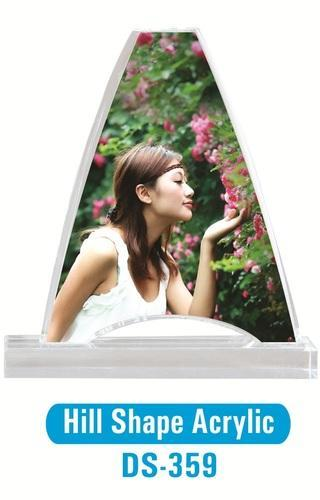 Hill Shape Acrylic Photo Frame