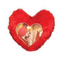 Heart Cushion Fur Double Side