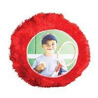 Round Cushion Fur