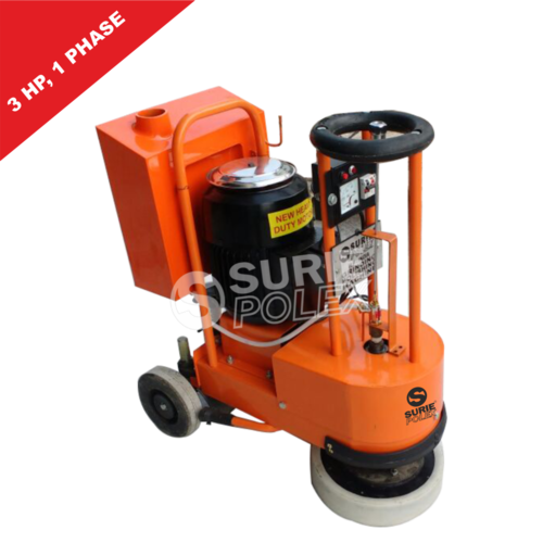 Floor Polisher Orange 3HP/5HP With Tank