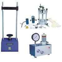 Triaxial Shear Test Apparatus (Motorized) - (TSTA-01)
