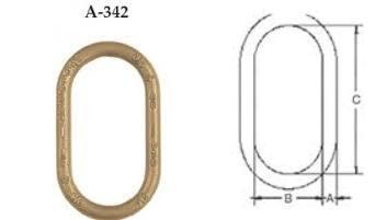 A-342 Alloy Master Links