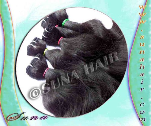 Indian 100% Quality Human Machine Weft Weavy Hair