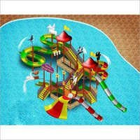 Multi Activity Water Play Structure