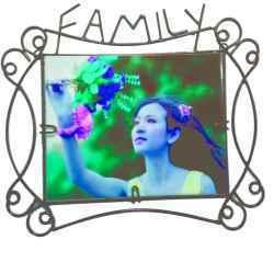 Antique Family Photo Frames