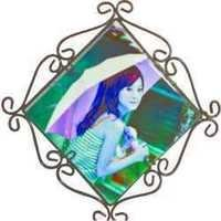 Diagonal Photo Frame